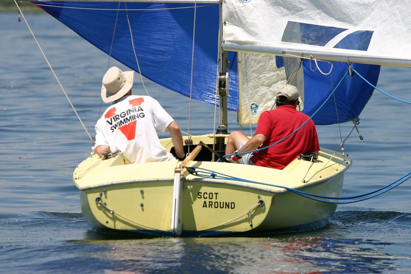 Racing on Long Island Sound out of Old Greenwich Yacht Club in Greenwich, CT.