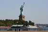 View of Statue of Liberty from Liberty State Park