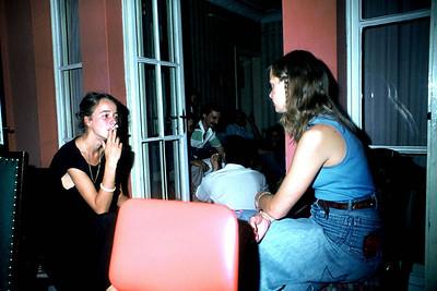 Anita Wahlund ve Ulla Fıratlı, Tunalı Hilmi, 1978