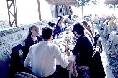 Bir yemek, Gölbaşı,Ankara 1978. Kimler vaaar kimler?