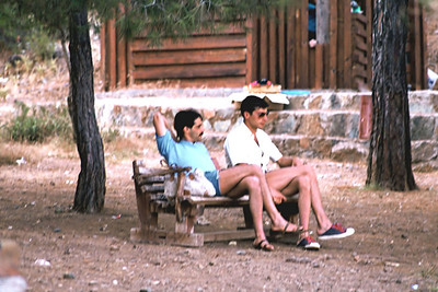Saim Uğursay,Numan.  Fethiye,Katrancı,  1980
