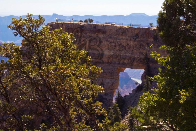 Colorado River Thru Angel's Window