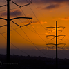 Powerlines at Sunset-9965
