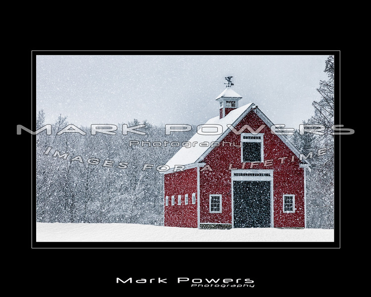 Red Barn Snowfall - Draft-2