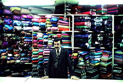 Kumaş dükkanı, Samanpazarı, Ankara,