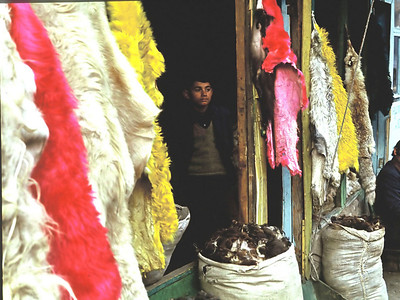 Kürkçü dükkanı, Samanpazarı, Ankara