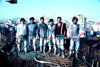 İnşaat işçileri, İstanbul