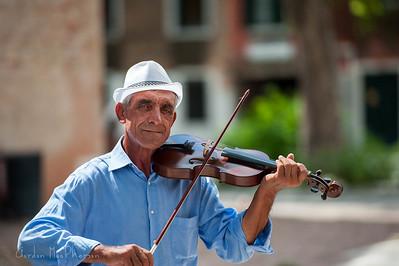 Musician in Venice