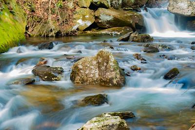 Downstream of Anna Ruby Falls