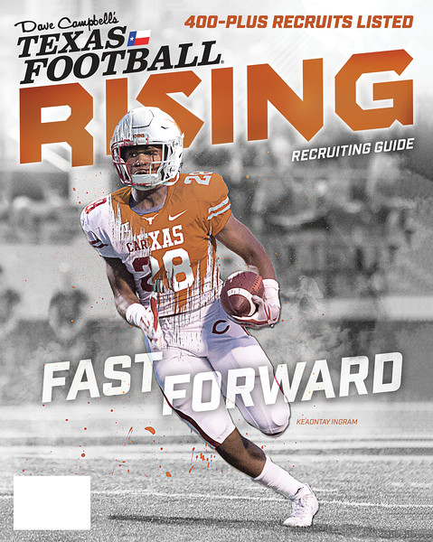 Dave Campbell Texas Football Rising 2017 Cover Photo