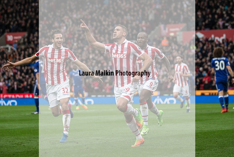 Football - FA Premier League - Stoke City FC v Chelsea FC