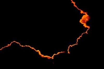 Venüs geçişi öncesi bulutlar