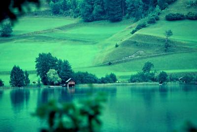 Lake, Austria, 1977