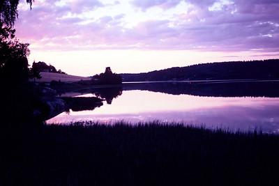 Lake, southern Oslo, 1977