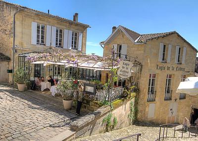 St. Emillion, France, Logis de La Cabene Restaurant