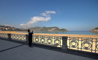 San Sebastian, La Goncha Plajı, Zeynep