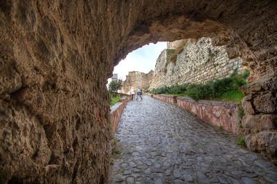Kastamonu kalesi girişi