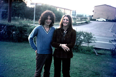 Jordi and his wife, Lillhagen, Göteborg, 1977