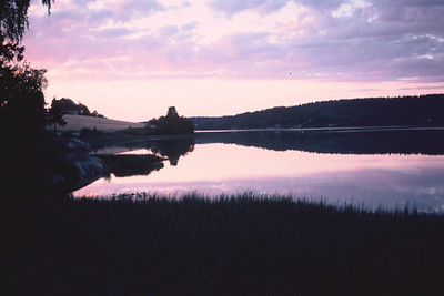 Lake, Norway, 1977