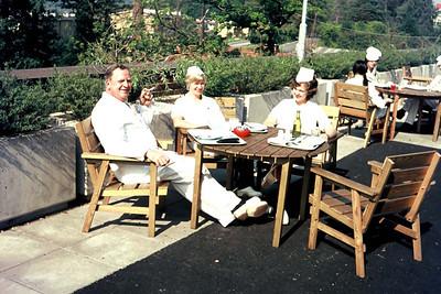 Lillhagen Sjukhus, Lunch break,  Göteborg 1975