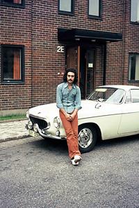 Chalmers dorms, Göteborg, 1974