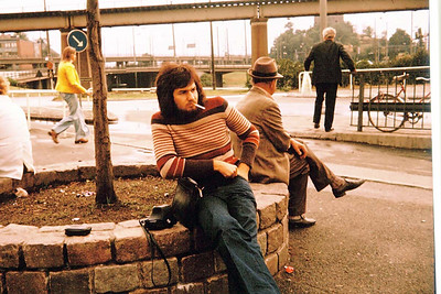 Otobüs durağı, Göteborg, 1974