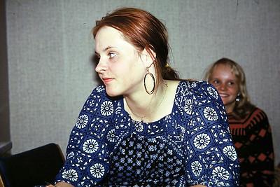 Riitta and her sister, Lillhagen, Göteborg,1977