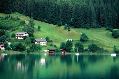 Lake, Austria , 1977