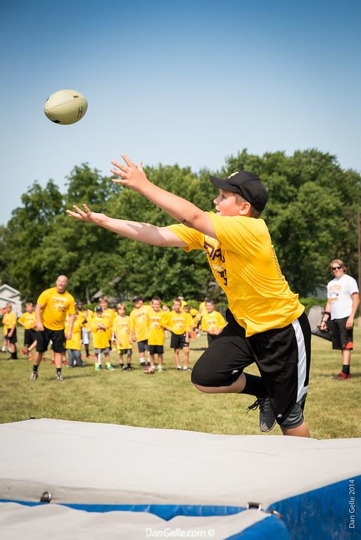 Chad Greenway's Day to Reach Football Camp Litchfield Minnesota