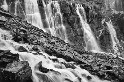 Seven Veils Falls at Lake O'Hara