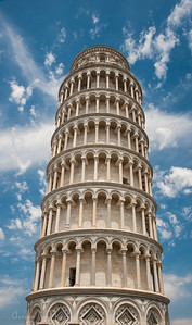Leaning of Tower of Pisa