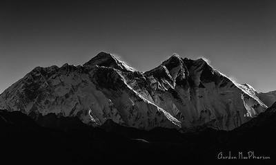 Everest, Lhotse and Nuptse