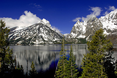 This is Jenny Lake at the Grand Tetons National Park Photo # 96