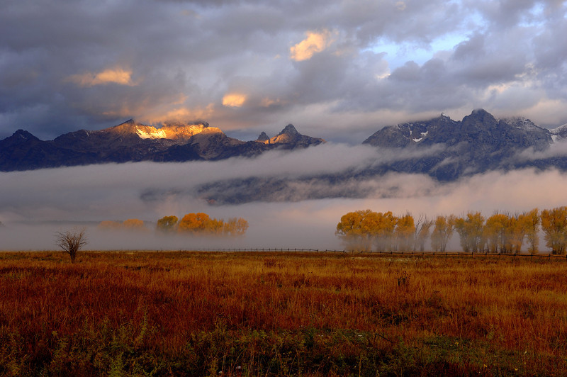 The Grand Teton National Park, Wy (Mormon Row) Photo # 80