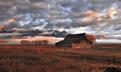 The Grand Teton National Park, Wy Mormon Row   Photo # 55