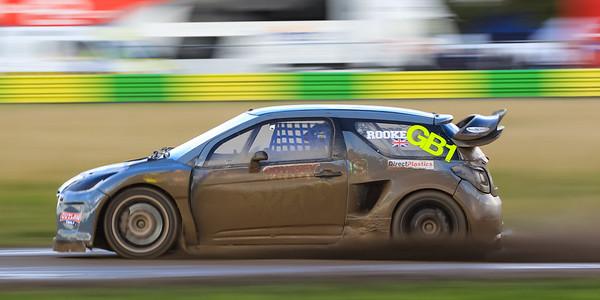 Rallycross racing