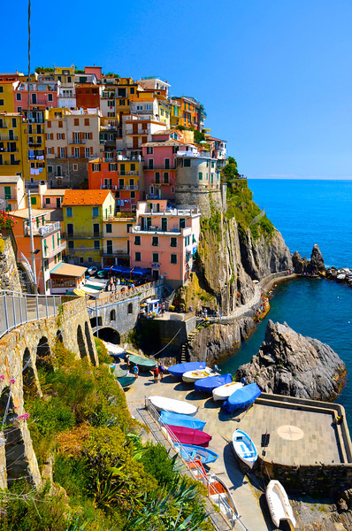 Manarola on the Riviera