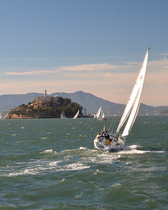 Sailing to Alcatraz