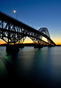 This is the Grand Island Bridge,The river is the Niagara river, I am on the Grand Island side looking toward Buffalo, this is a 30 second exposure<br /> Photo # 25