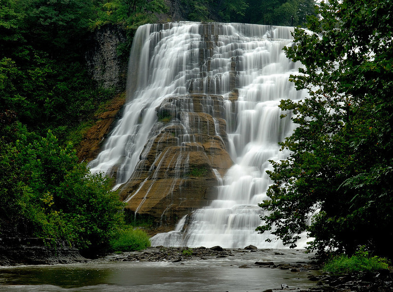Ithaca Falls, NY   Taken 9 / 5 / 2011   Posted  6 / 11 / 2012