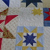 Hero's Tribute - quilt made by Scrap Fever small group.   Being donated to the QOV foundation.