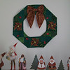 2012 - Wreath<br /> <br /> Buttons, bells and prairie points