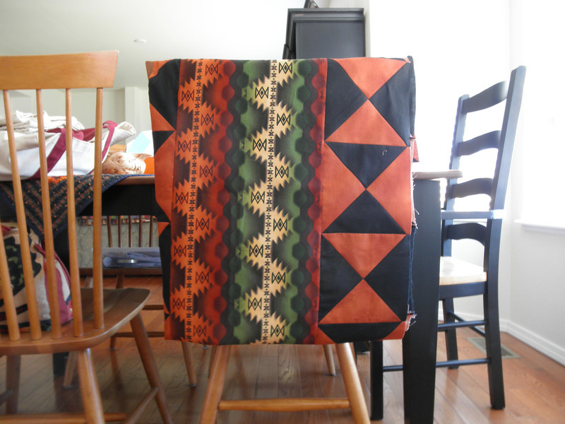 """2011 - Chaffee Quilt Top 3<br /> Donated to Piecing Partners Charity Quilt committee<br /> 66""""x72"""""""