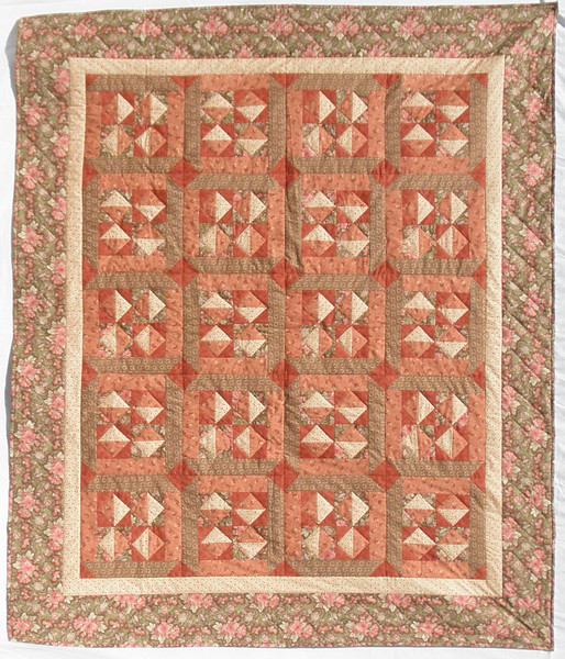 """2011 - Mystery Quilt 2<br /> 66"""" x 74""""<br /> Donated to Piecing Partners Silent Auction"""
