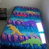 2010 - Dinosaur bedspread for Griffin
