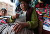 While this lady did not like my camera at all, her response gave me one of my favorite photos from La Paz.