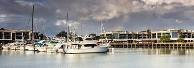 CL 113 Rainbow Over the Bay