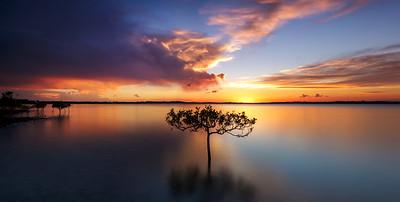 WP 71 Spring Storm Sunset