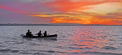 WP 22  Twilight Paddle