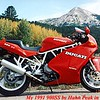 91 Ducati 900SS Hahn Peak Colorado
